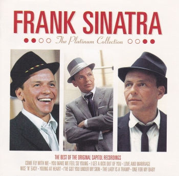 Frank Sinatra    The Platinum Collection -The Best Of The Original Capitol Recordings     2004 3 CD Set