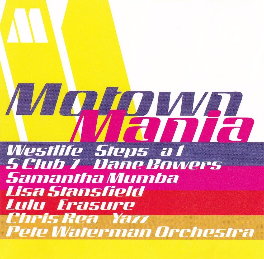 Motown Mania   Various Artists      2000 CD