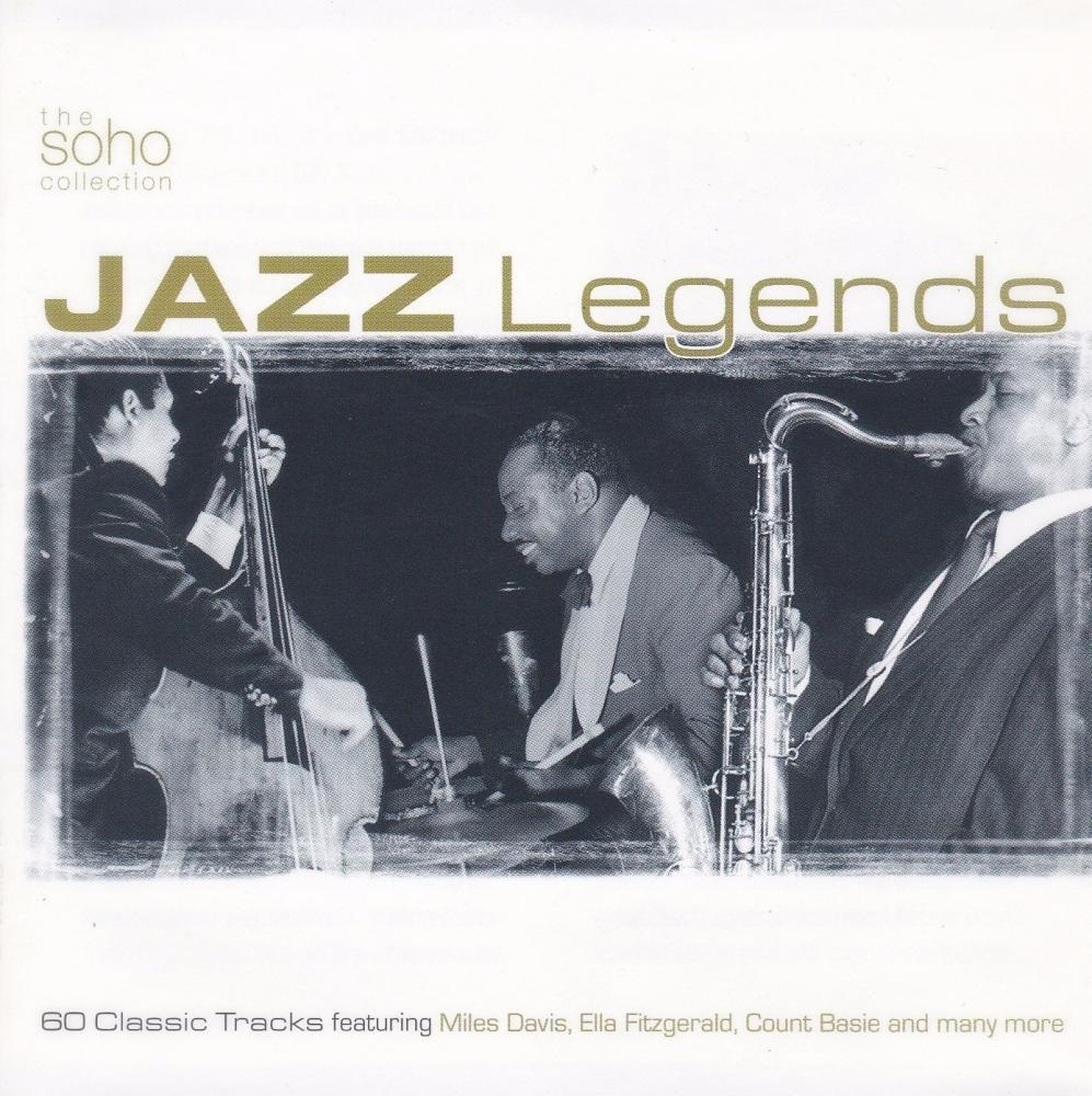 Jazz Legends  Various Artists 60 Classic Tracks On 3 CDS    2002