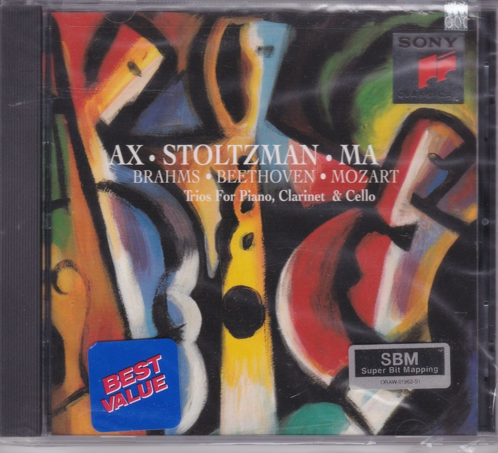 Ax.Stoltzman.Ma  Brahms. Beethoven . Mozart Trios For Piano,Clarinet & Cell