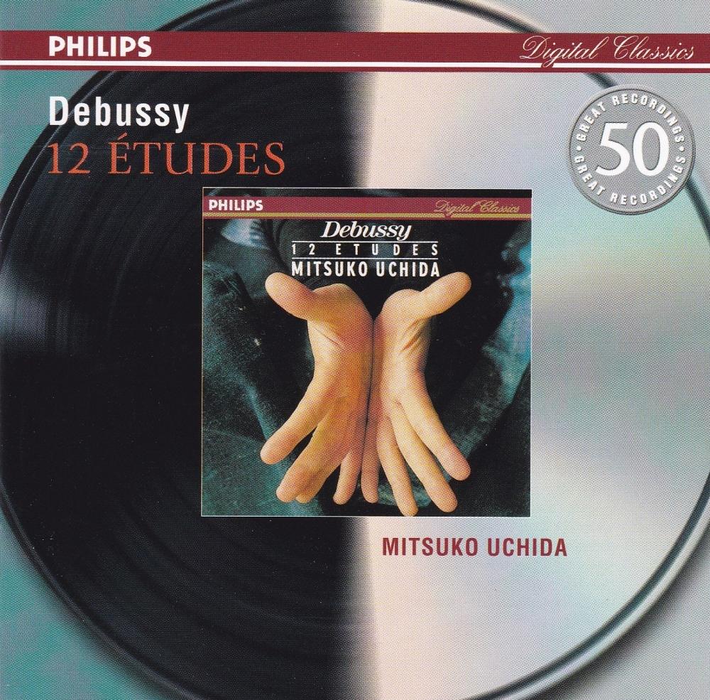 Debussy     12 Etudes     Mitsuko Uchida     2001 CD