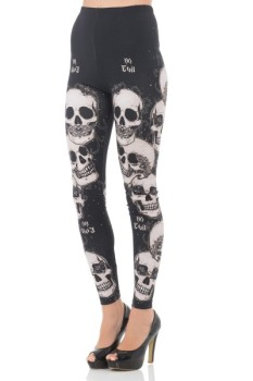 Do No Evil Leggings by Jawbreaker