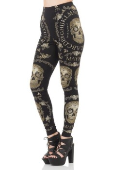 The Dark Seer Leggings by Jawbreaker