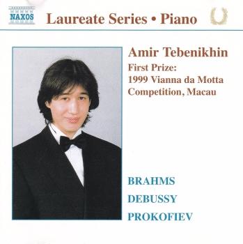 Amir Tebenikhin    Piano Recital    Brahms,Debussy,Prokofiev    2001 CD