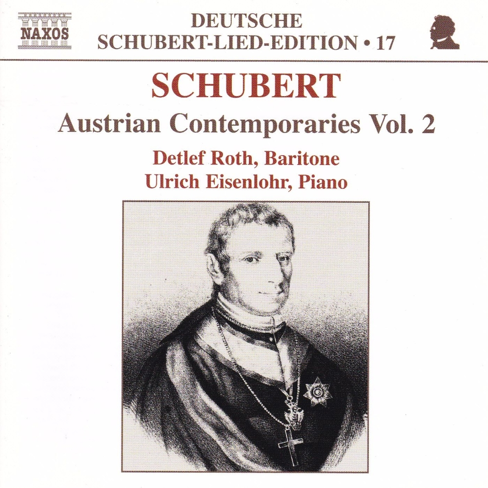 Schubert  Austrian Contemporaries  Vol.2     CD