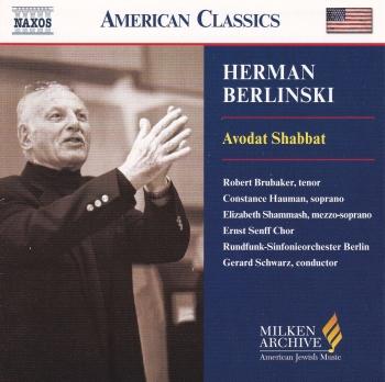 Herman Berlinski    Avodat Shabbat
