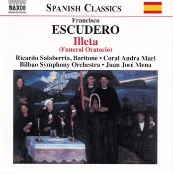 Escudero     Illeta   ( Funeral Oratorio )    CD
