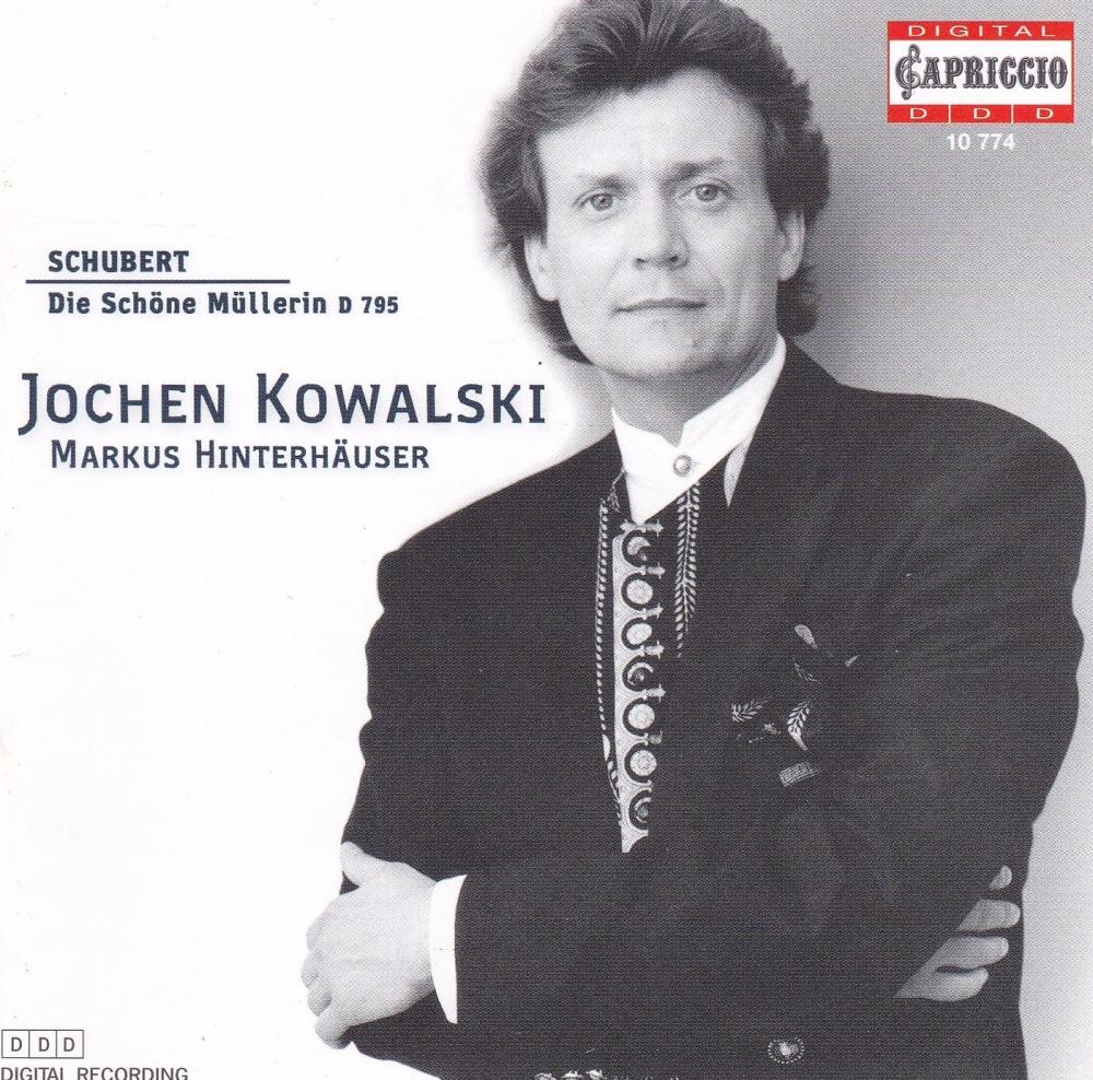 Schubert     Die Schone mullerin D 795  Jochen kowalski ,Markus Hinterhause