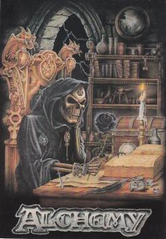 Alchemy   Black Rose   Postcard