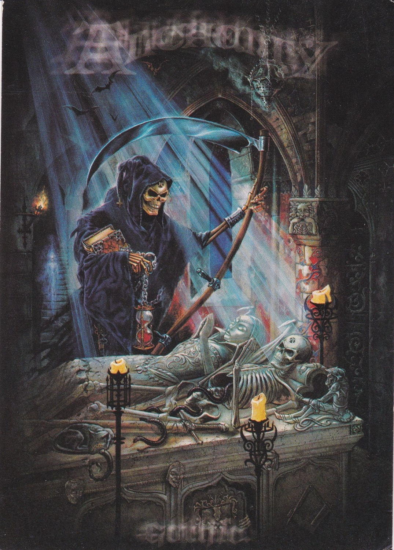 Alchemy Crypt    Postcard