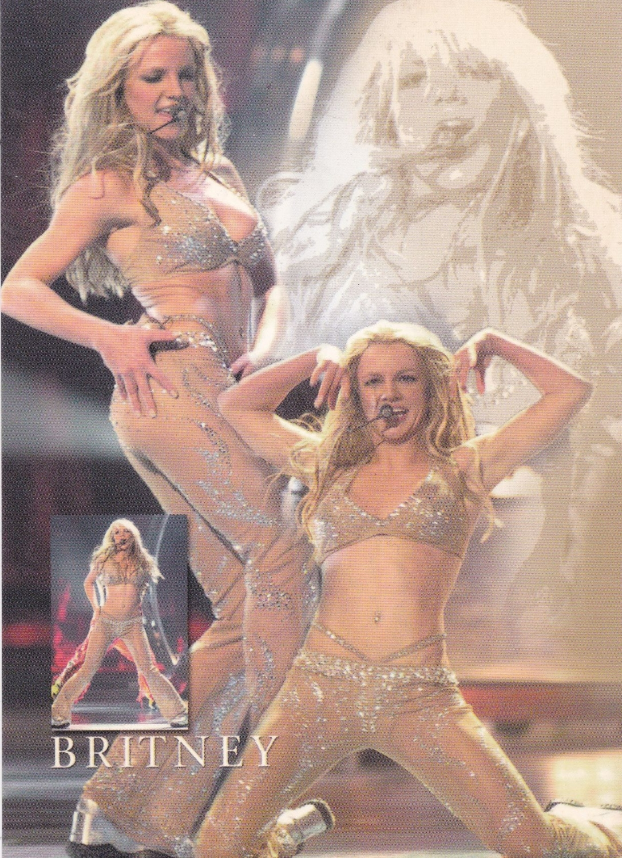 Britney Spears        Britney    Postcard
