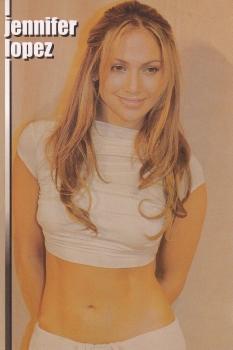 Jennifer Lopez    Postcard  X855