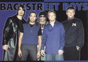 Backstreet Boys    Postcard