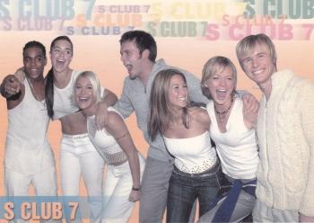 S Club 7    Postcard