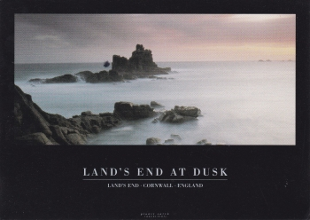 Land's End At Dusk   ( Planet Earth Collection )Postcard