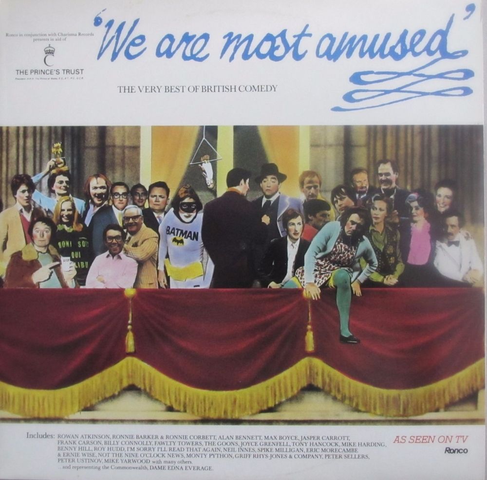 We Are Most Amused - The Very Best Of British Comedy  Double Vinyl Lp