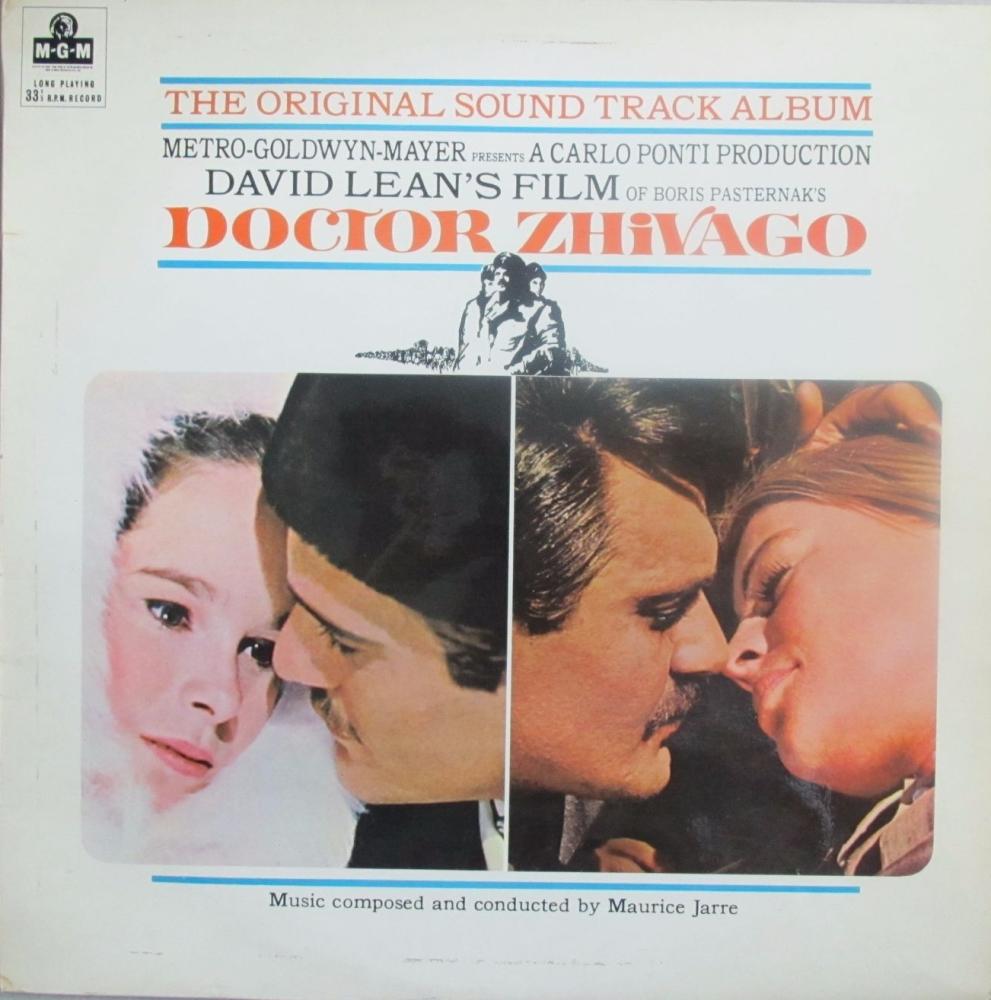 Doctor Zhivago Original Sound Track Album  1966 Vinyl LP   Pre-Used