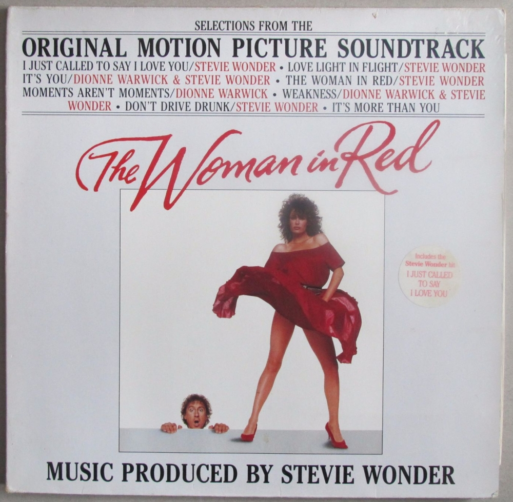 The Woman In Red Original Motion Picture Soundtrack   1984 Vinyl LP  Pre-Us