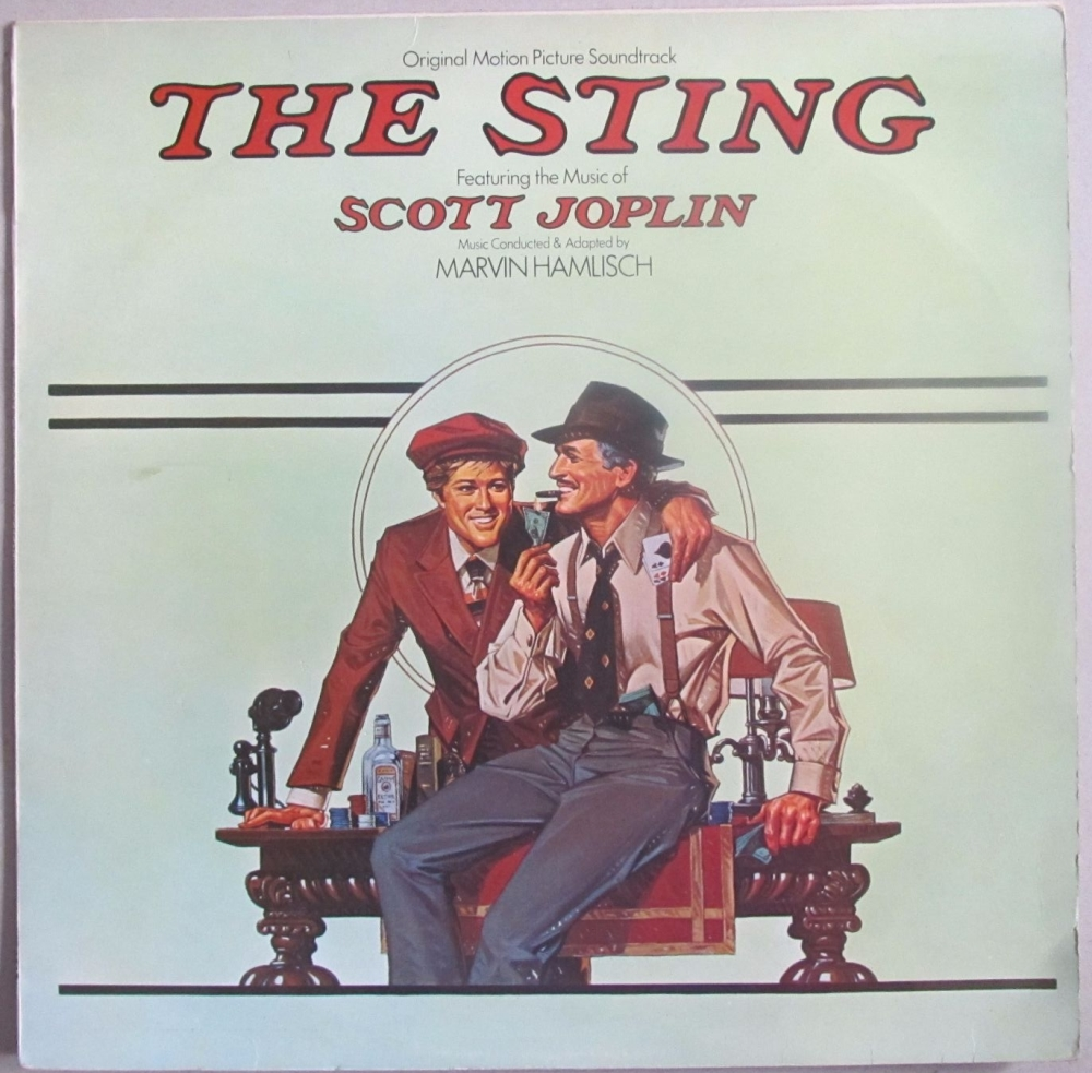 The Sting  Original Motion Picture Soundtrack  1974 Vinyl LP  Pre-Used