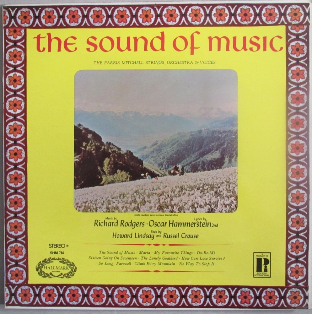 The Sound Of Music - The Parris Mitchell Strings, Orchestra & Voices   1965