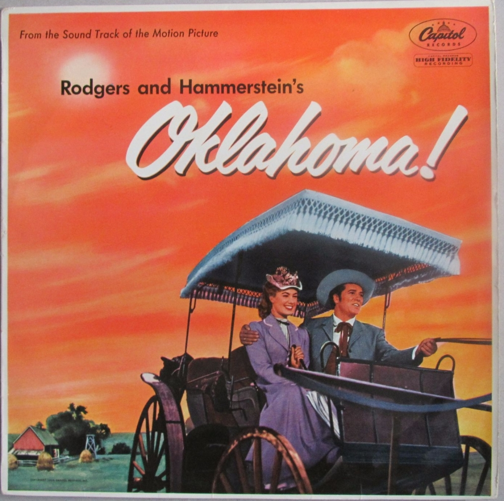 Oklahoma  Original Motion Picture Soundtrack  Vinyl LP Pre-Used