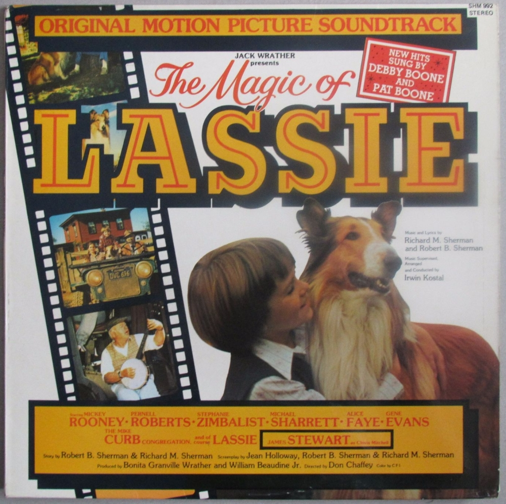 The Magic Of Lassie  Original Motion Picture Soundtrack 1979 Vinyl LP  Pre-