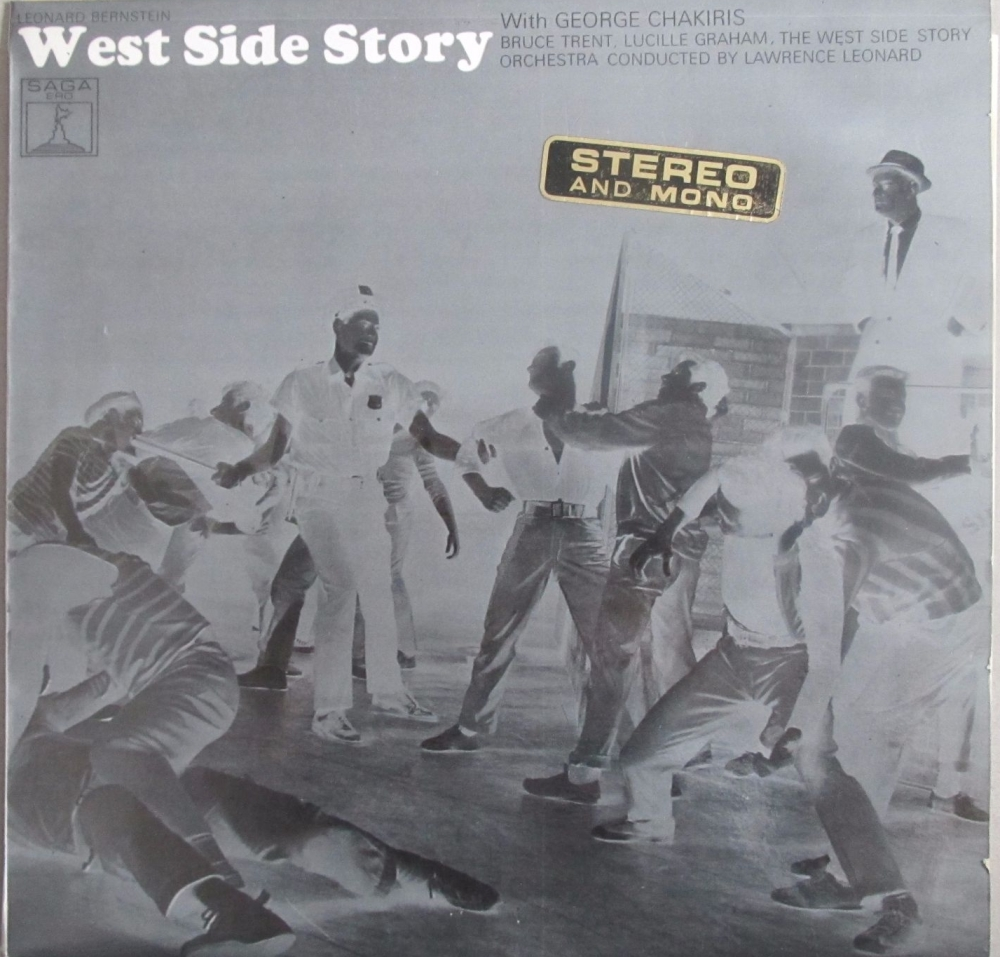 West Side Story With George Chakiris West Side Story Orchestra /Lawrence Le