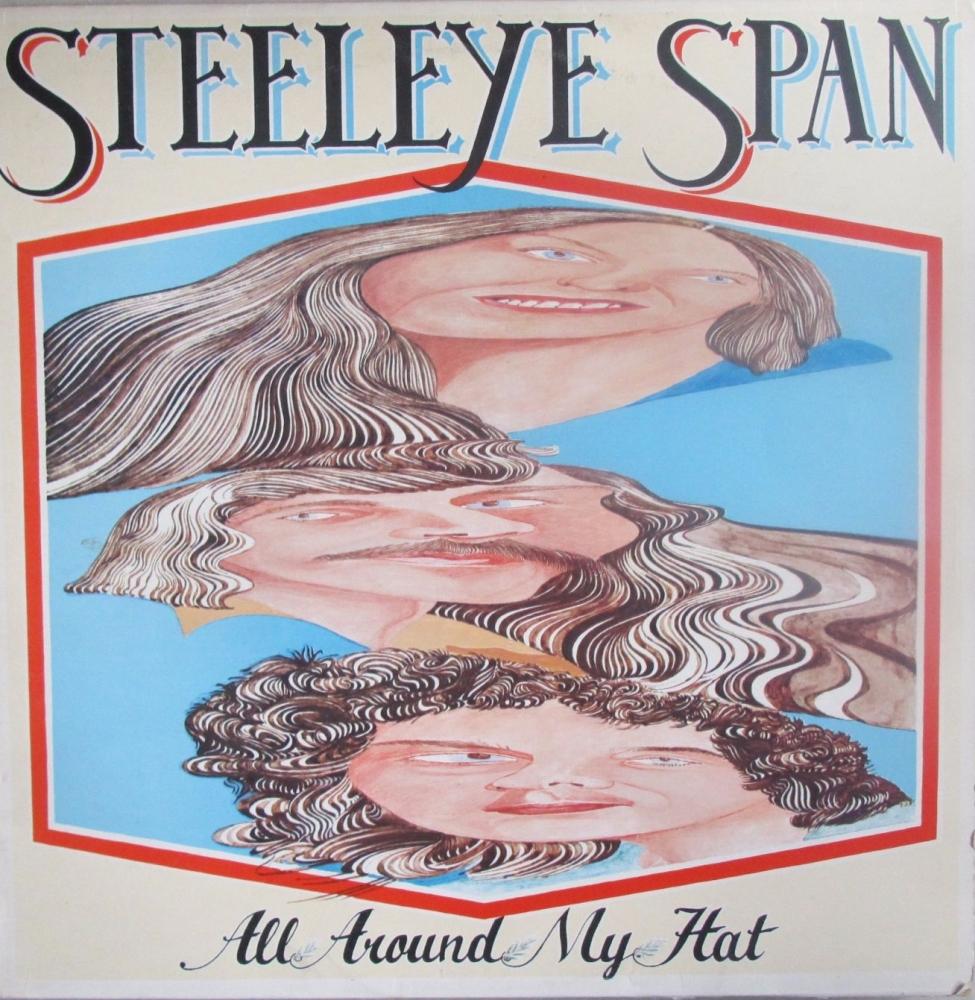 Steeleye Span    All Around My Hat    1975  Vinyl LP  Pre-used