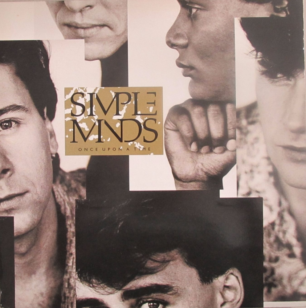Simple Minds  Once Upon A Time    1985 Vinyl LP  Pre-Used