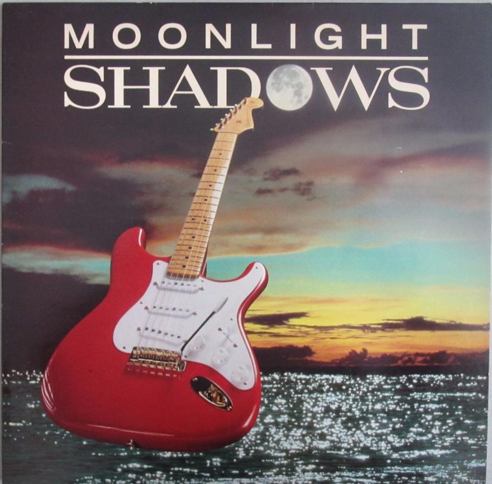 The Shadows    Moonlight Shadows     1986 Vinyl LP Pre-Used
