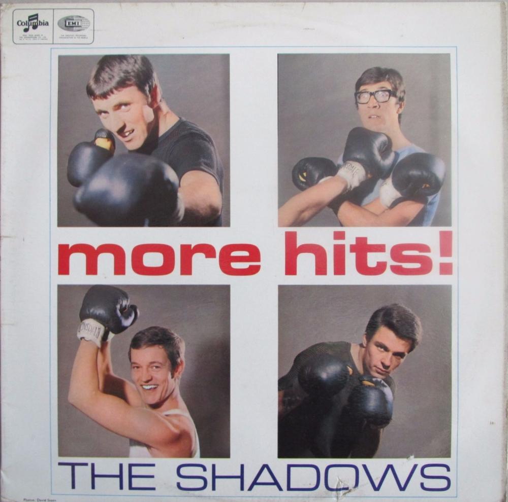 The Shadows    More Hits!      1965 Vinyl LP  Pre-Used