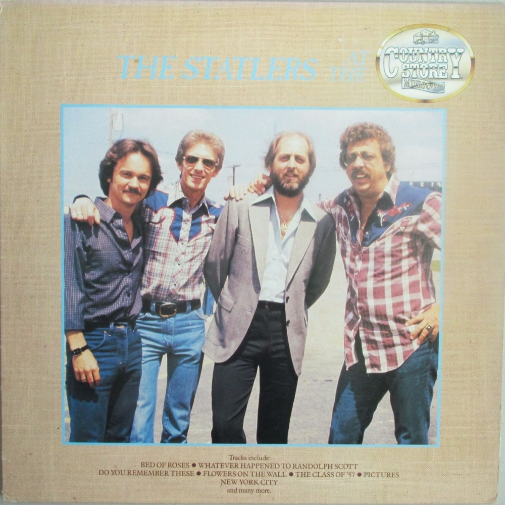 The Statlers  At The Country Store    1985 Vinyl LP   Pre-Used