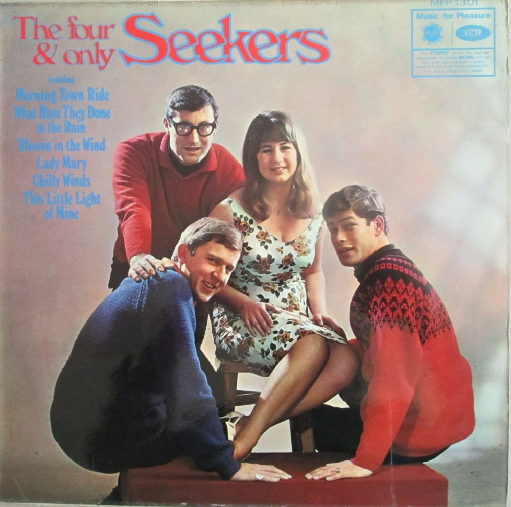 Seekers    The Four & Only Seekers  Hide And Seekers    1964 Vinyl LP   Pre