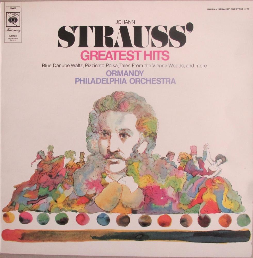 Strauss   Johann Strauss Greatest Hits    Ormany / Philadelphia Orchestra