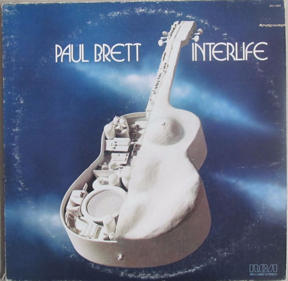 Paul Brett     Interlife       1978 Vinyl LP    Pre-Used