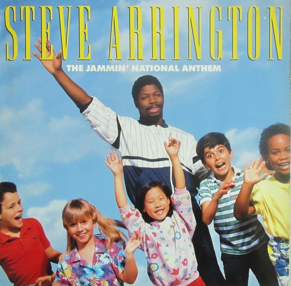 Steve Arrington   The Jammin' National Anthem     1986 Vinyl LP   Pre-Used