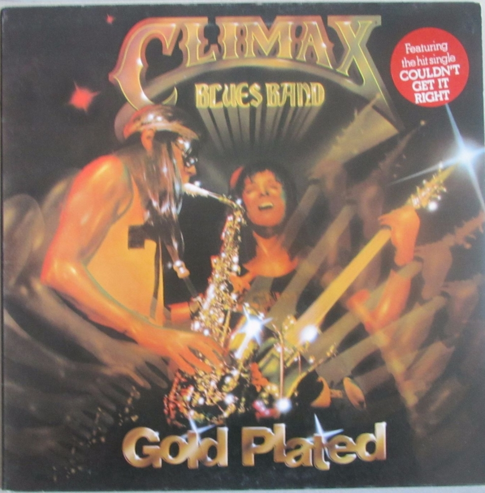 Climax Blues Band      Gold Plated     1976 Vinyl LP  Pre-Used
