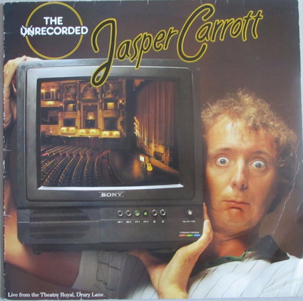 Jasper Carrott    The Unrecorded       1979 Vinyl LP   Pre-Used
