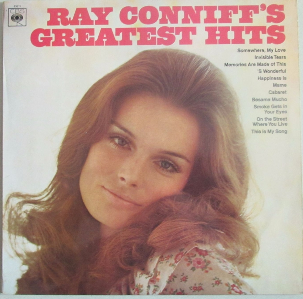 Ray Conniff         Ray Conniff's Greatest Hits    1969  Vinyl LP   Pre-Use