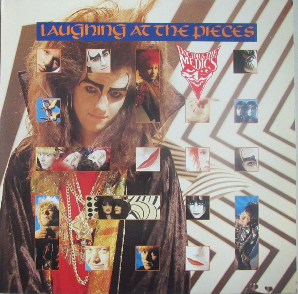 Doctor & The Medics      Laughing At The Pieces    1986 Vinyl LP    Pre-use