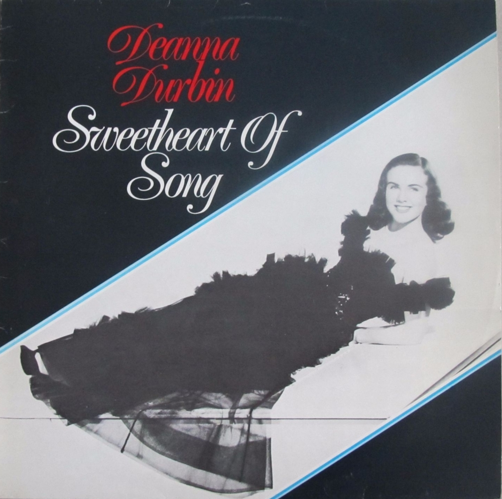 Deanna Durbin      Sweetheart Of Song       Vinyl LP    Pre-Used