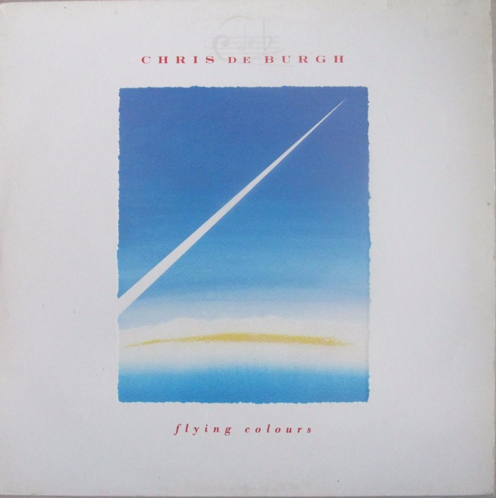 Chris De Burgh      Flying Colours   1988 Vinyl LP    Pre-Used