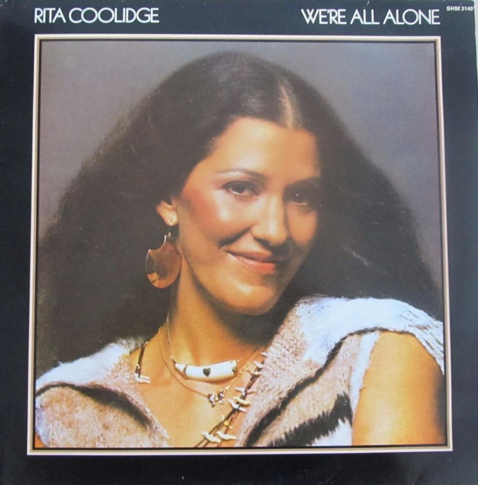 Rita Coolidge      We're All Alone   1977 Vinyl LP   Pre-Used