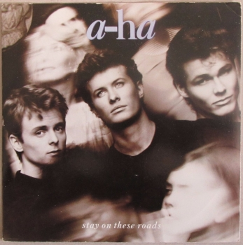 "A-Ha        Stay On These Roads      1988  Vinyl  7"" Single   Pre-Used"