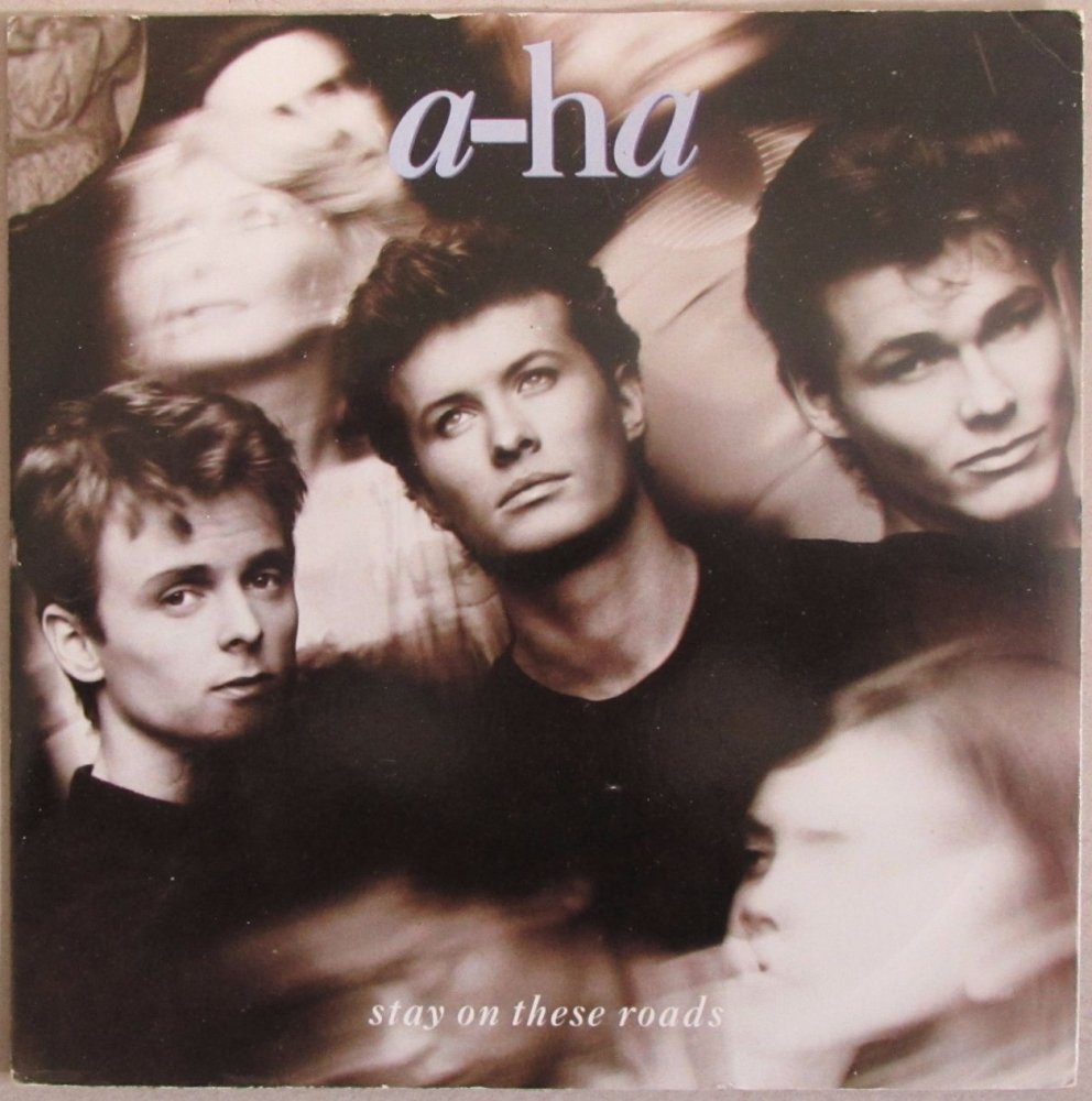 A-Ha        Stay On These Roads      1988  Vinyl  7