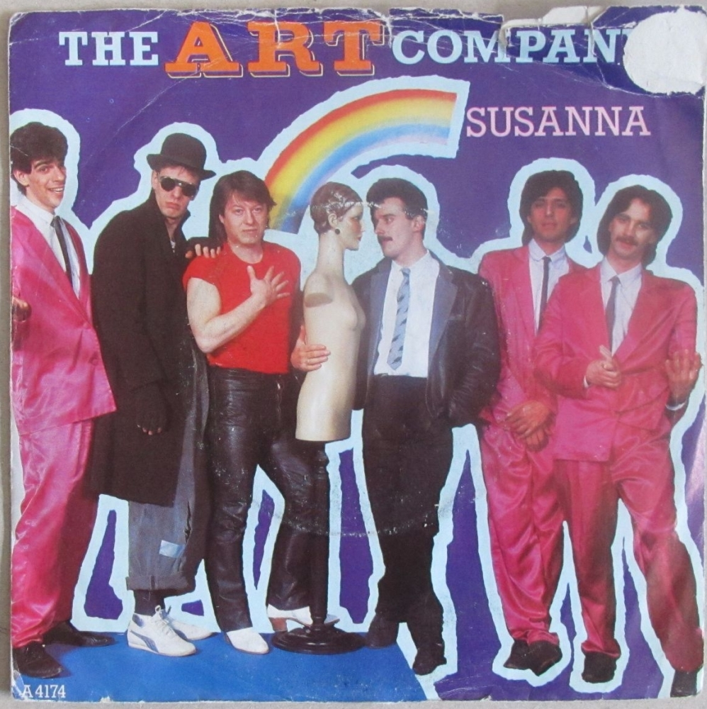 The Art Company      Susanna       1984 Vinyl  7