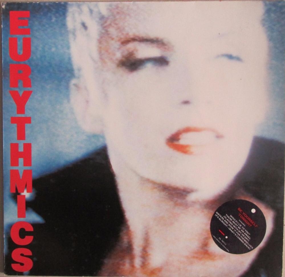 Eurythmics         Be Yourself Tonight     1985 Vinyl LP   Pre-Used