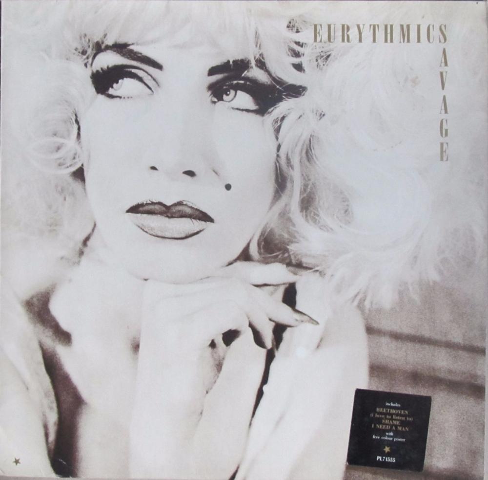 Eurythmics        Savage         1987 Vinyl LP    Pre-Used
