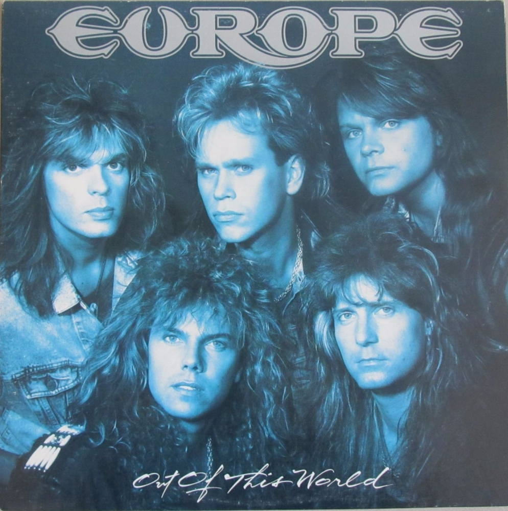 Europe     Out Of This World     1988 Vinyl LP    Pre-Used