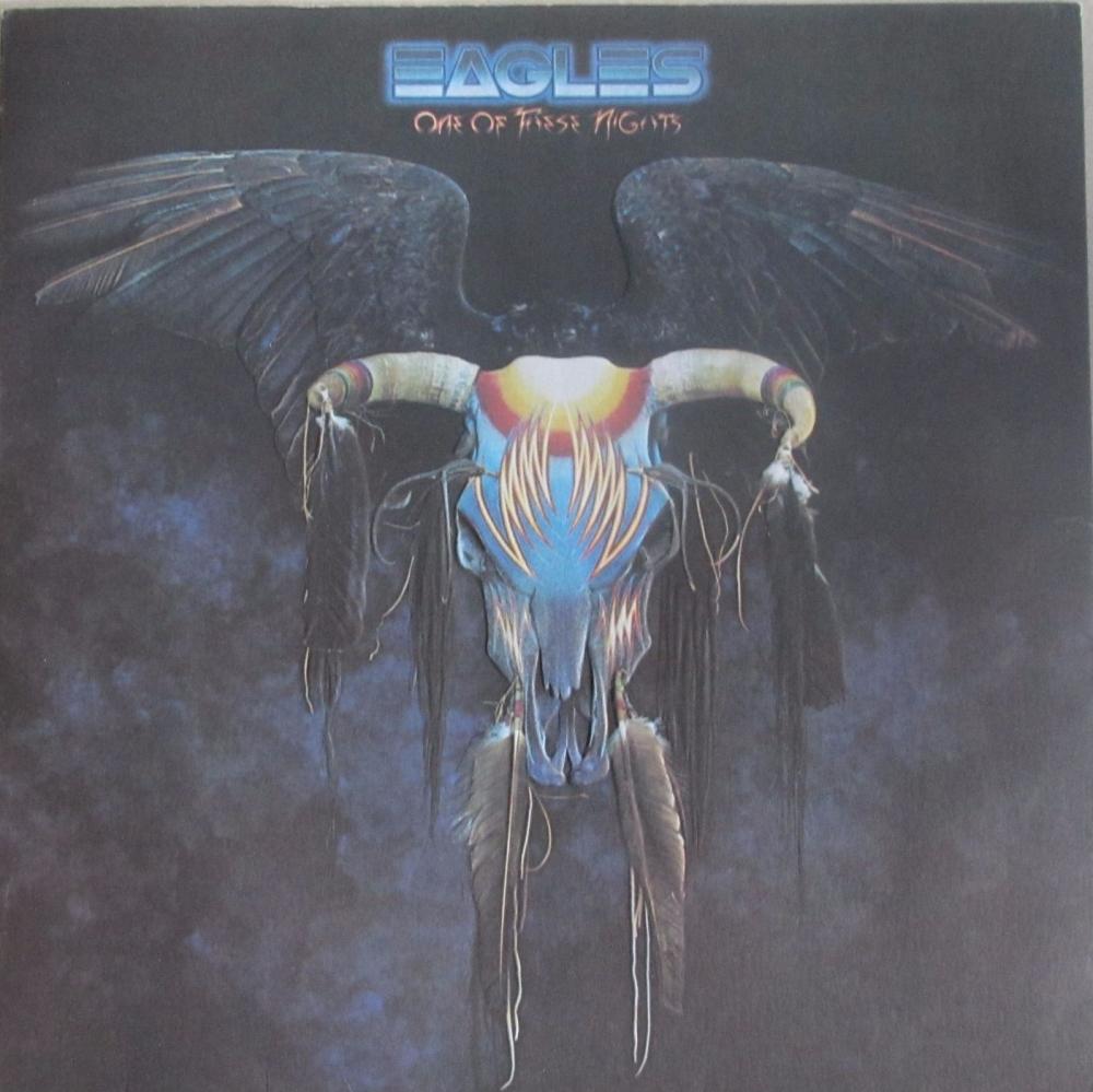 Eagles      One Of These Nights    1976 Vinyl LP Embossed Sleeve     Pre-Us